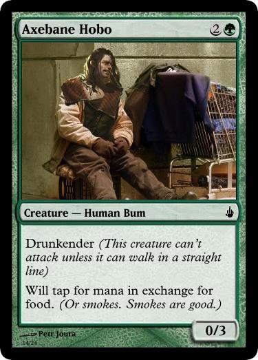 07 axebane guardian hobo return to ravnica