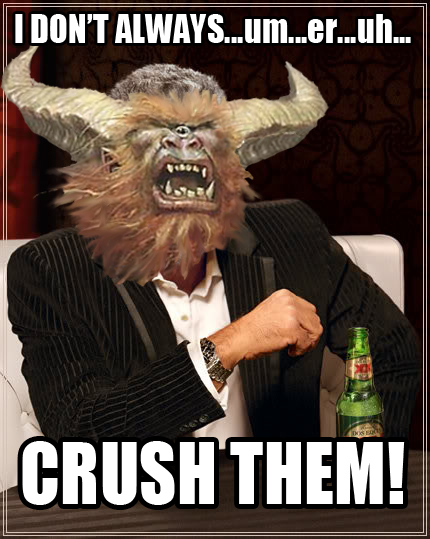The Most Interesting Gruul Leader in the World