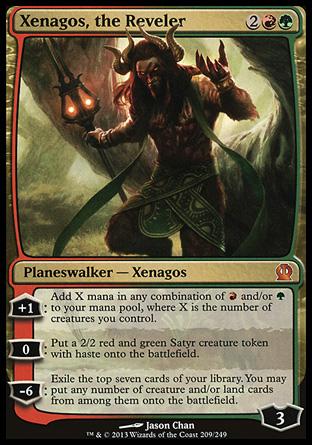 3. Xenagos the Reveler