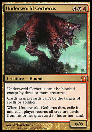6. Underworld Cerberus