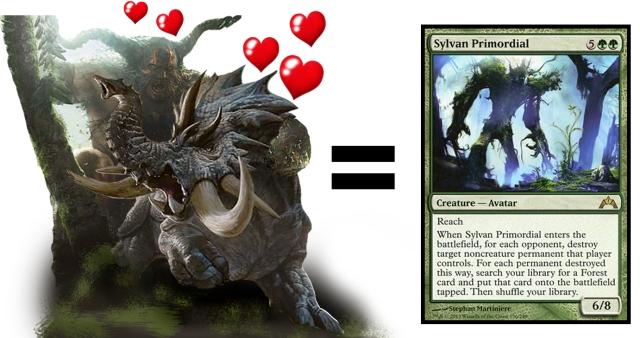 primeval titan sylvan primordial terastodon love